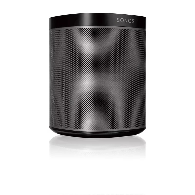 Sonos Für Badezimmer Sonos Play 1 Schwarz Kompakter Multiroom Smart Speaker Für Music Streaming