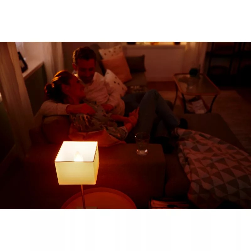 Hue E14 Philips Hue White Ambiance E14 Led Kerze Warmweiß