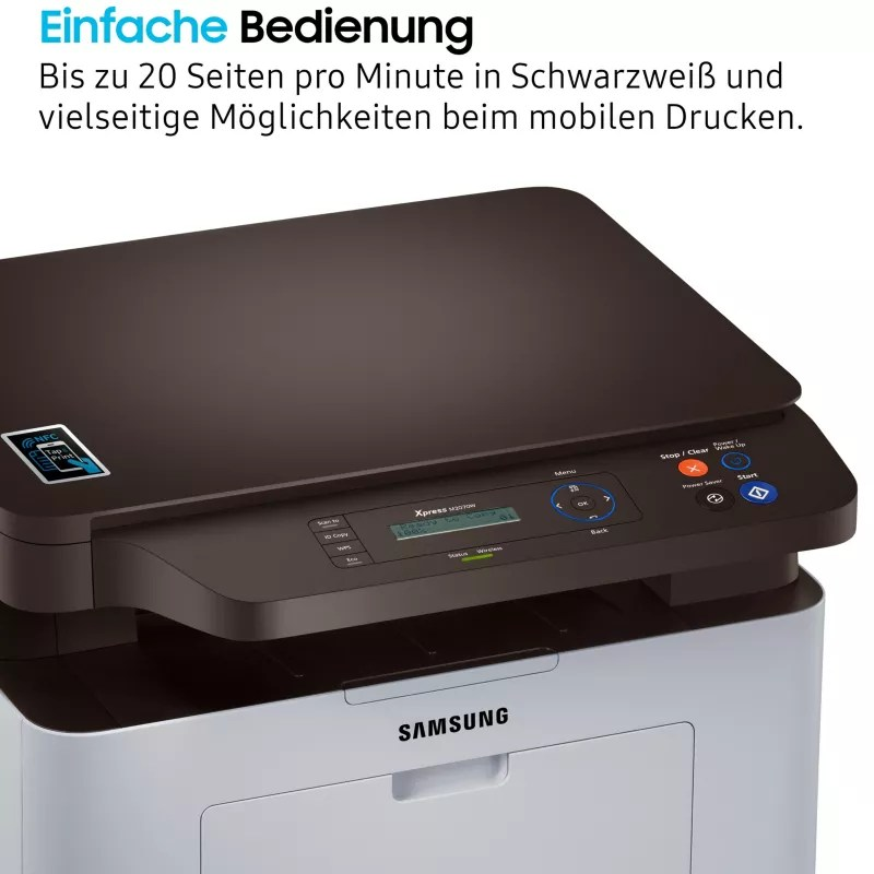 Samsung Multifunktionsdrucker Samsung Xpress Sl M2070w S W Laser Multifunktionsdrucker