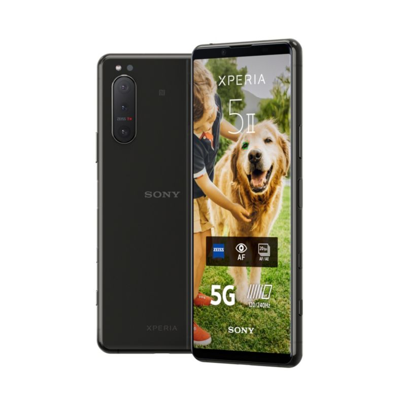 Sony Xperia 5 Ii Smartphone Black 5g Dual Sim Android 10 Cyberport