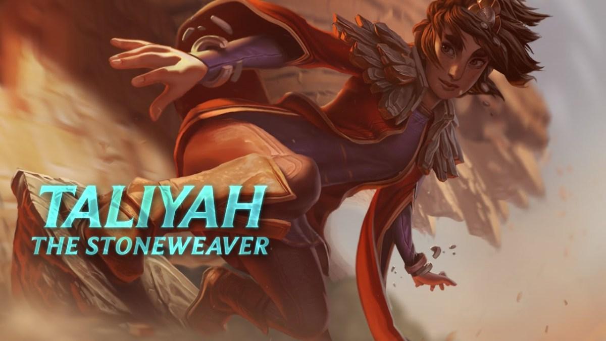 Fall Best Wallpapers Taliyah The Stoneweaver New Lol Champion Cyberpowerpc
