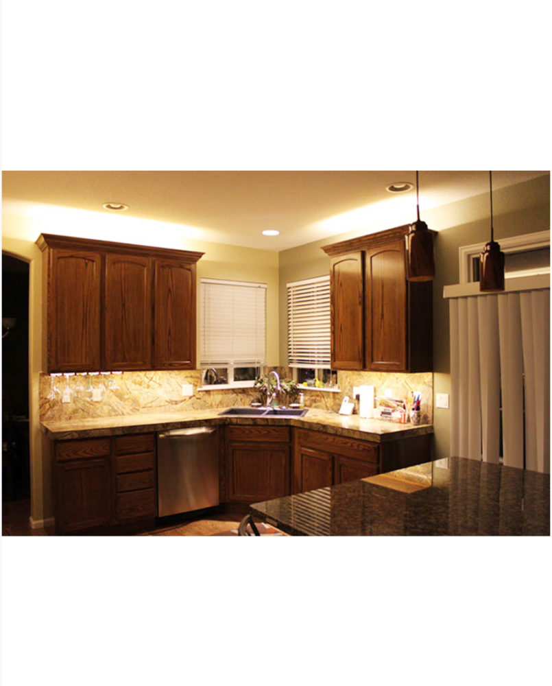 Under Cabinet Lighting In Kitchen Ul125 245 335 425b Led 5 Wide Thinline Under Cabinet Fixtures