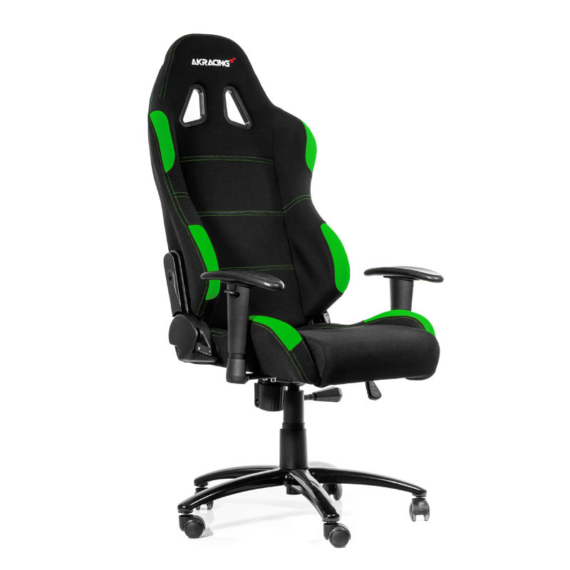 Magasin Tissu Toulouse Akracing Gaming Chair K7012 Noir/vert - Siège Pc Gamer