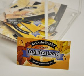 Fall Festival Drawing Cards