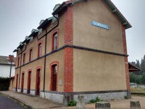 La gare de Sembadel.