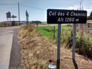 Premier col franchi au Béage.