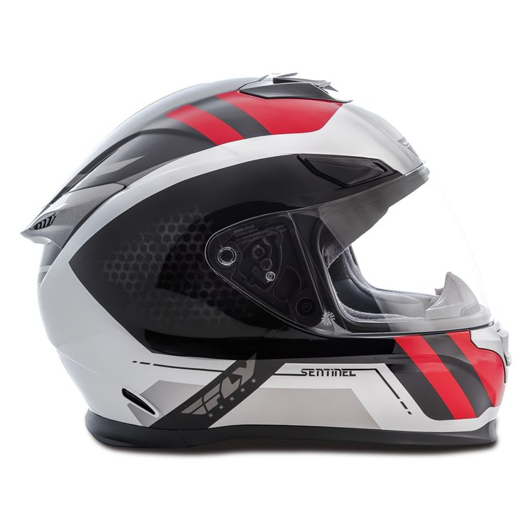 Zoom Rev Grey Fly Racing Street Sentinel Mesh Helmet Cycle Gear