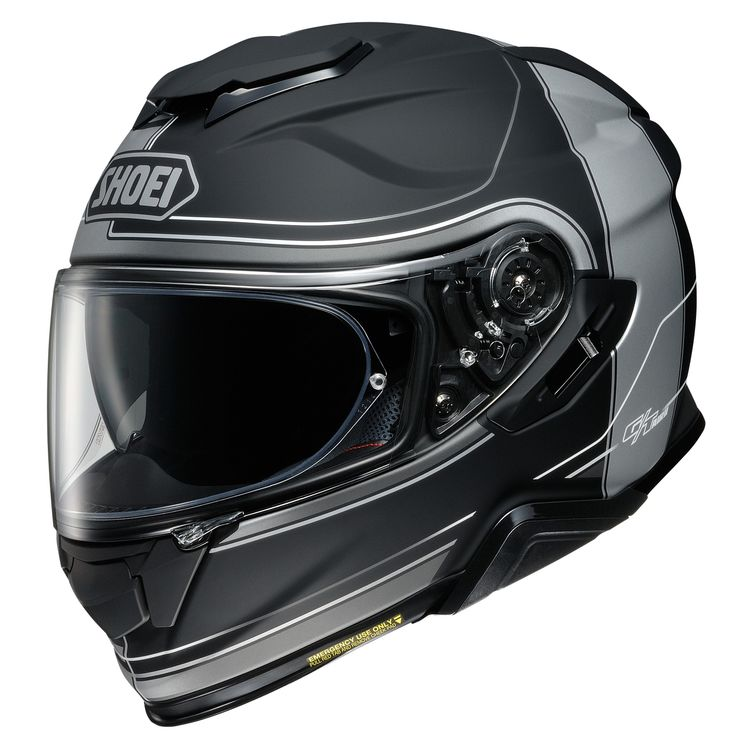 Zoom Rev Grey Shoei Gt Air Ii Crossbar Helmet Cycle Gear