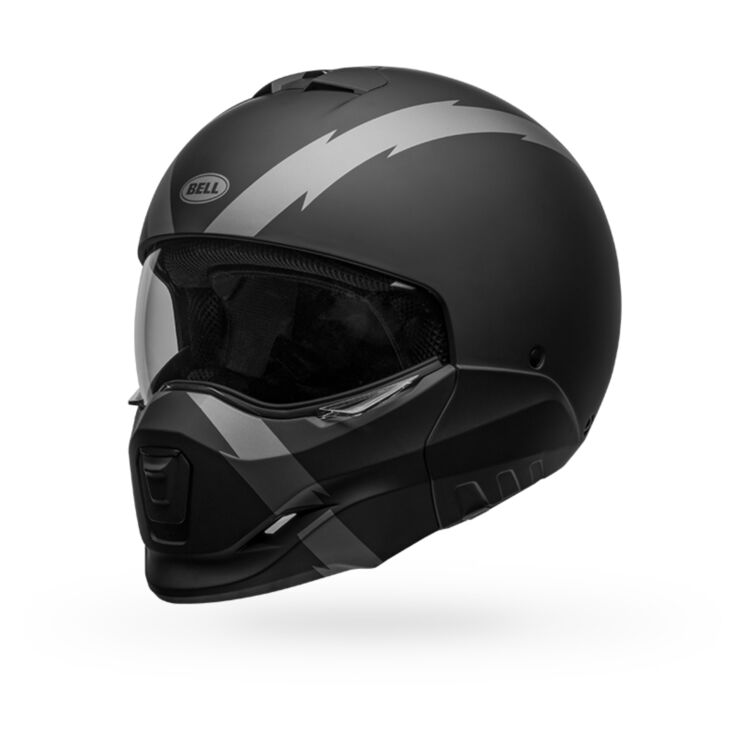 Zoom Rev Grey Bell Broozer Arc Helmet Cycle Gear
