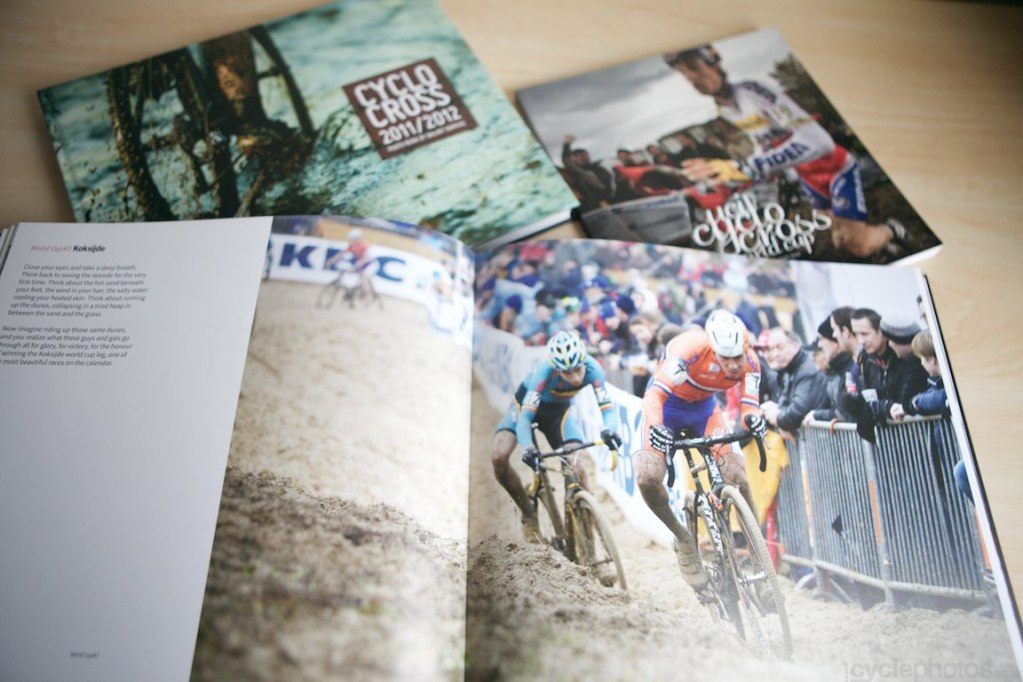 Cyclocross 2013/2014 – the story behind the books