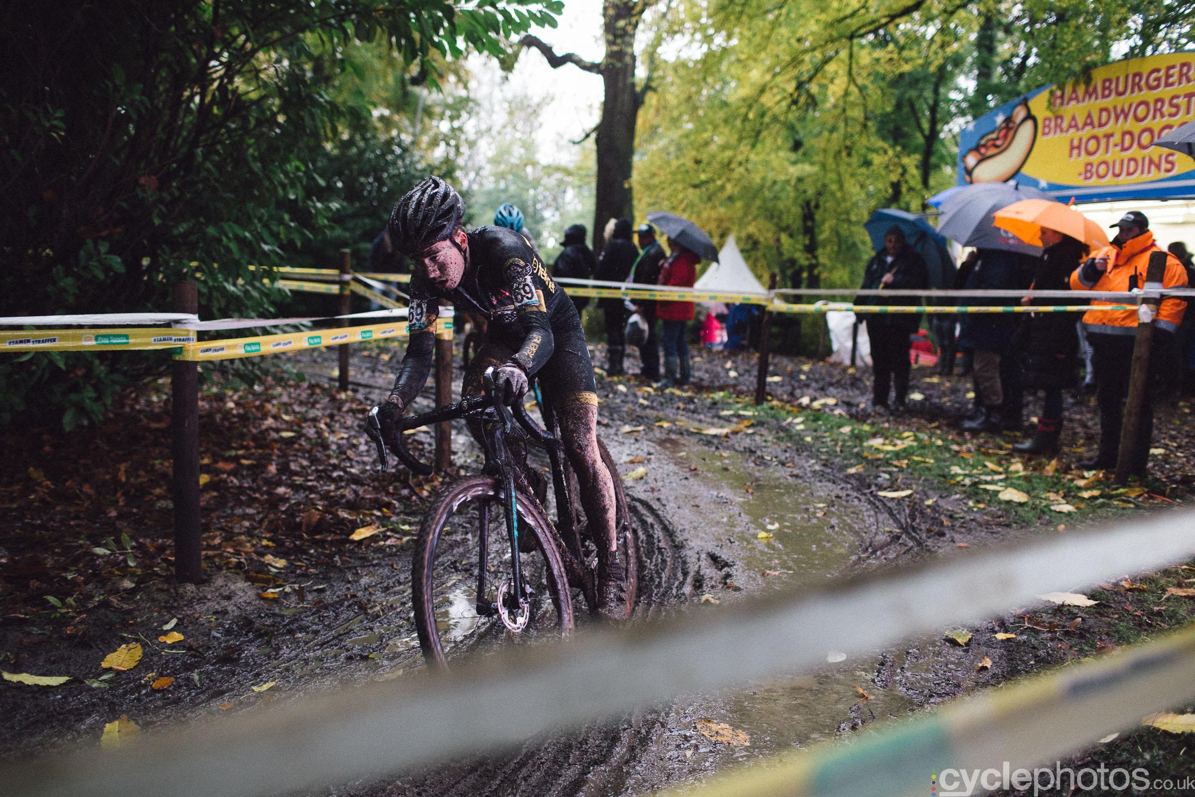 Maik van der Heiden at Cyclocross Superprestige #5 - Gavere, BEL
