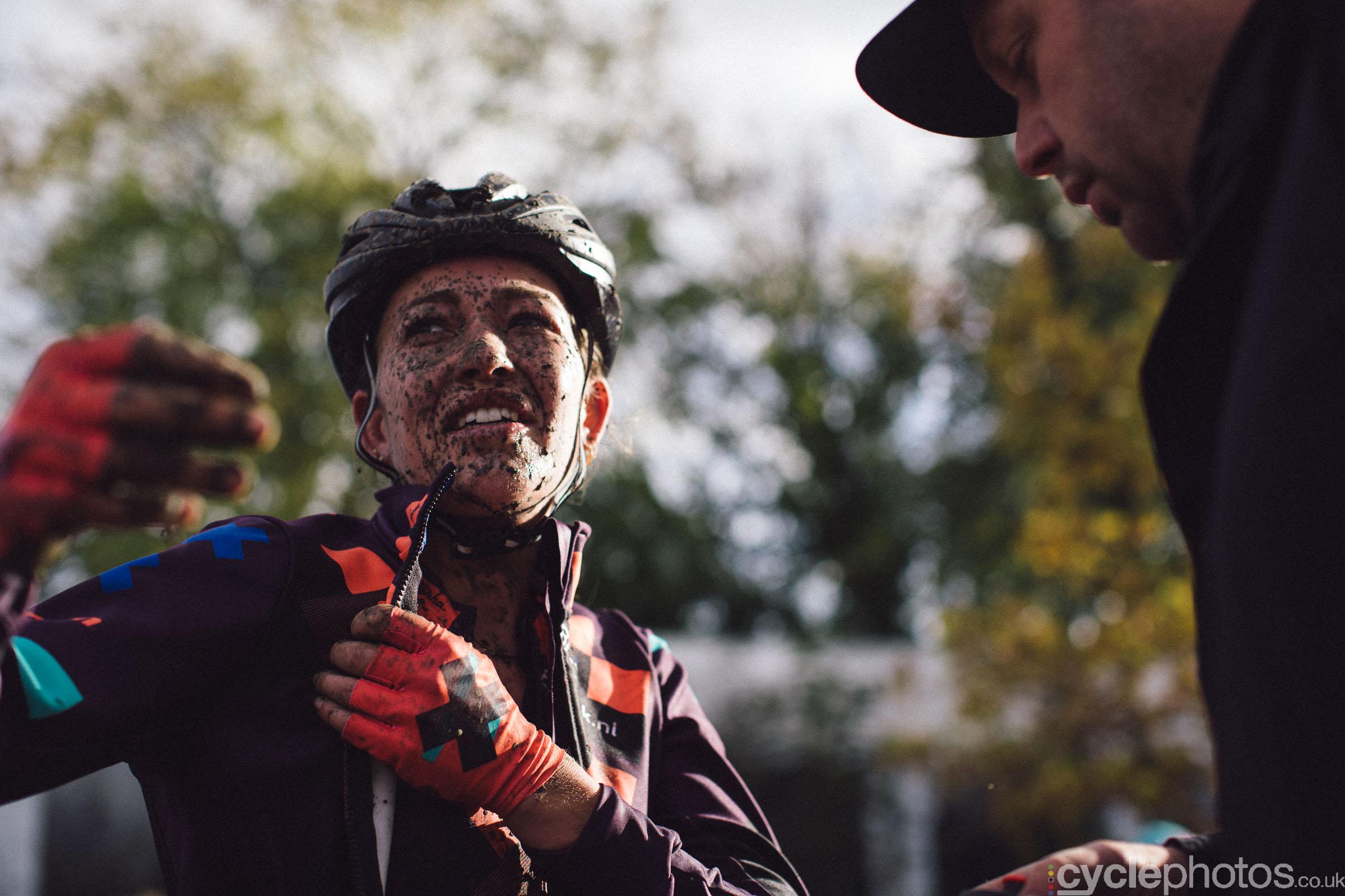 Sophie de Boer at Cyclocross Superprestige #5 - Gavere, BEL
