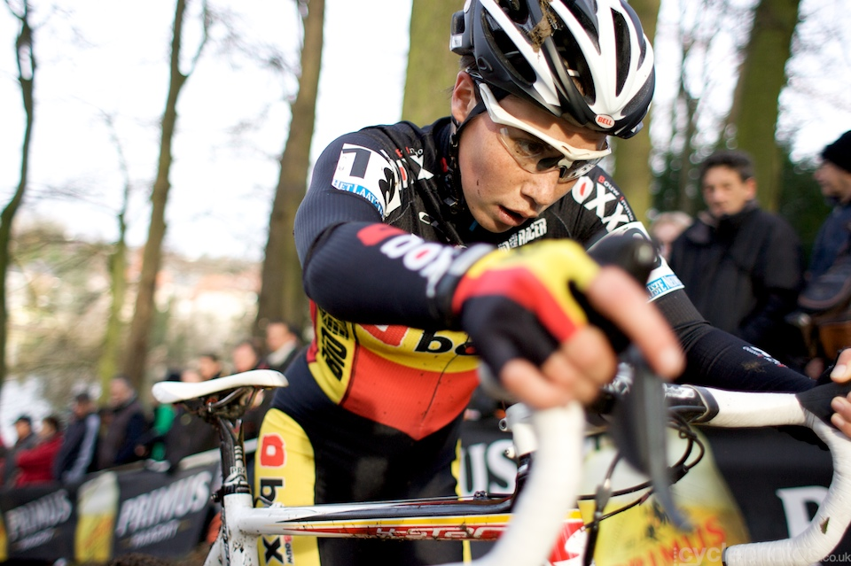 Sanne Cant completed an impressive weekend of racing, she finished on the podium both on Saturday, at Scheldecross and today, at the Druivencross, too.