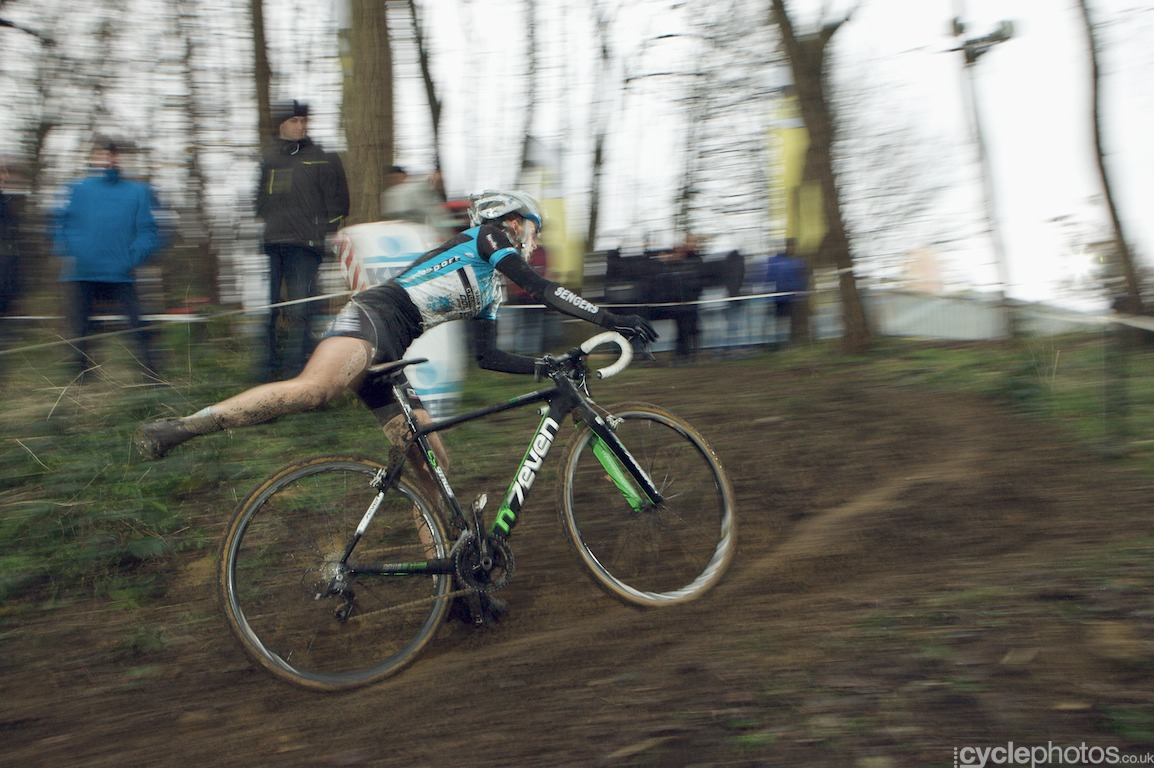 Karen Verhestraeten and her cycling ballet routine