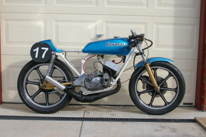 1976 Kawasaki KH100 \u2013 Evan Fell Motorcycle Works