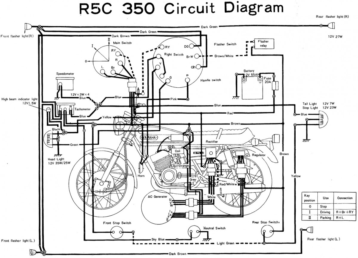 yamaha wire diagram
