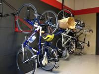 Bike Wall Rack - Vertical Bike Room Storage   CycleSafe