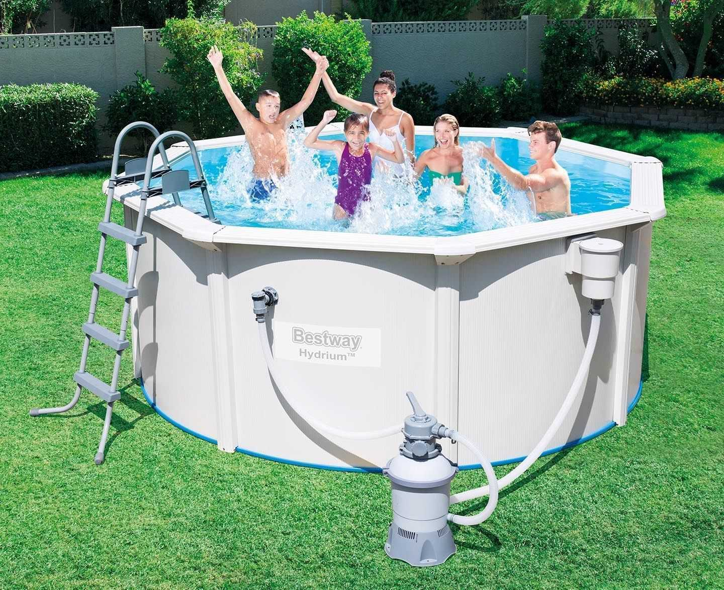 Bestway Pools The Range Bestway Hydrium Above Ground Swimming Pool Sand Filter 16