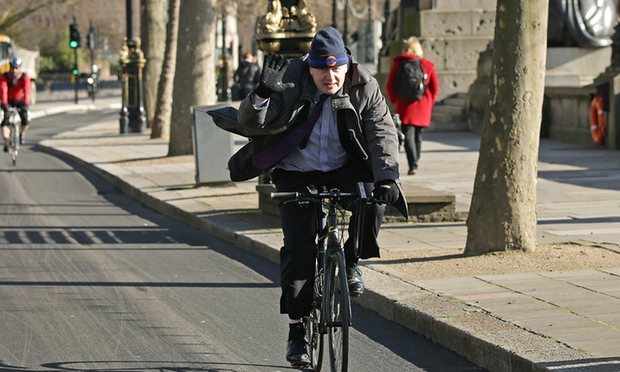 Boris Johnson: 'I wish I'd built more segregated cycling routes for London'