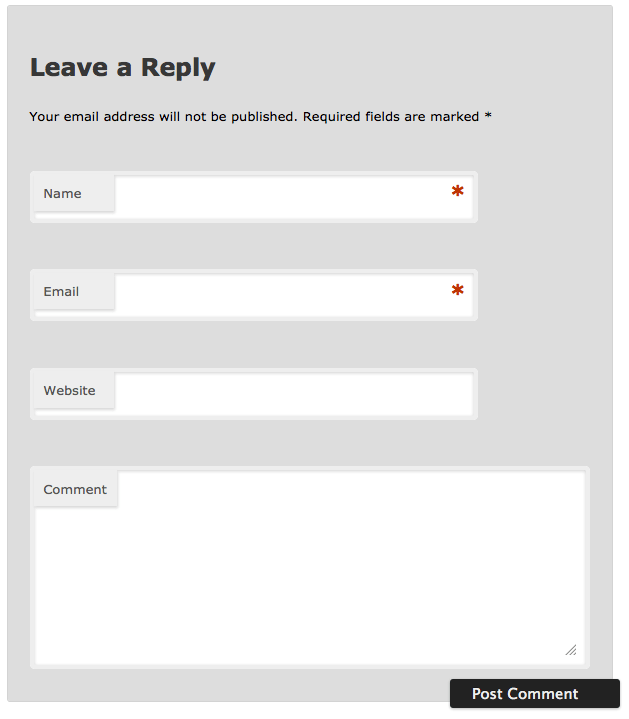 When CSS Positioning Kills Functionality: Changing the Look of a WordPress Comments Form (1/3)