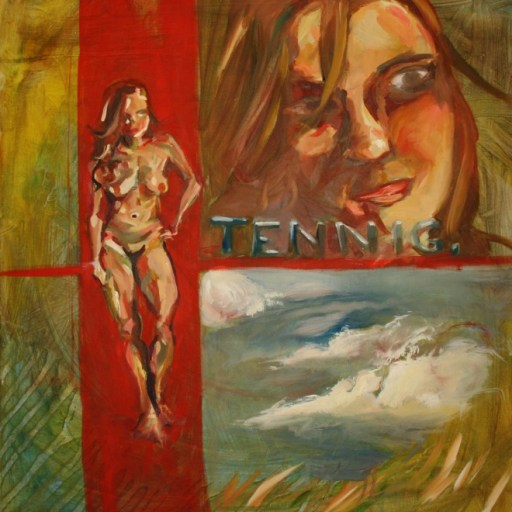 "Tennig, 24""x24"", oil on canvas, 2009"
