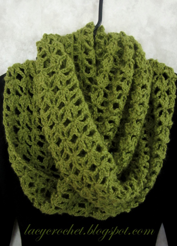 crochet infinity scarf