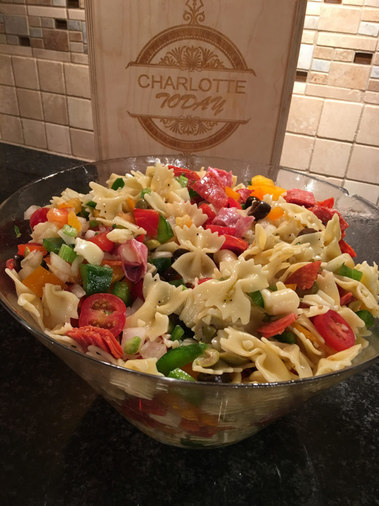 Mia Cucina Llc 4th Of July Pasta Salad On Nbc S Charlotte Today Show