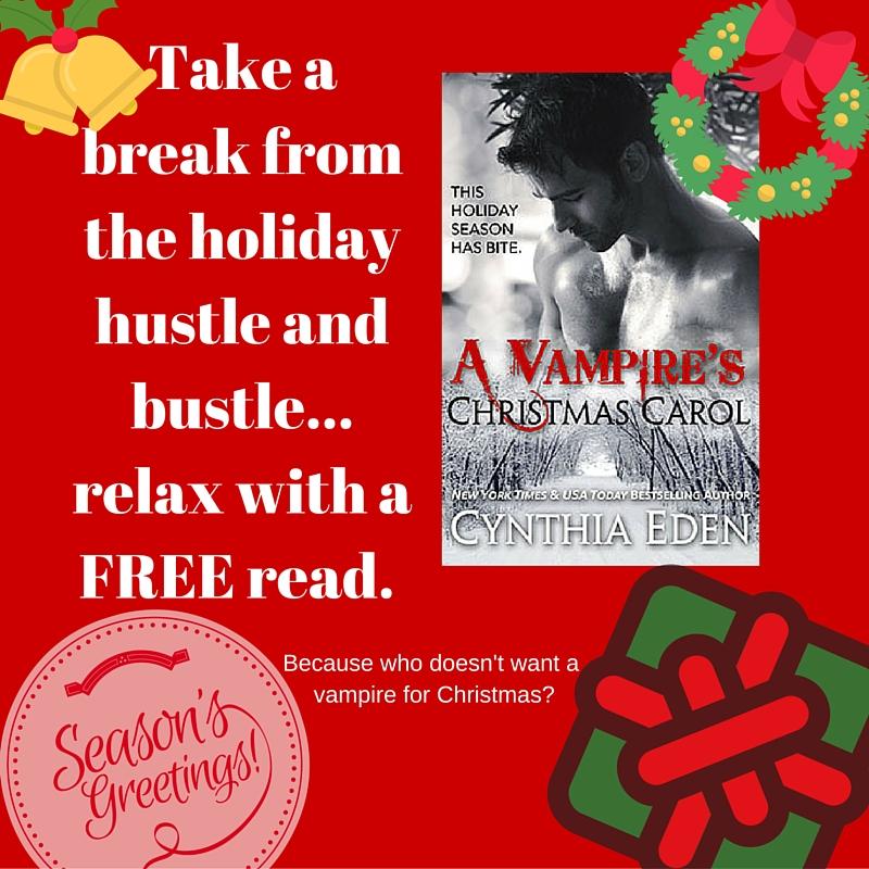 Happy Holidays \u2013 A Free Read - Cynthia Eden