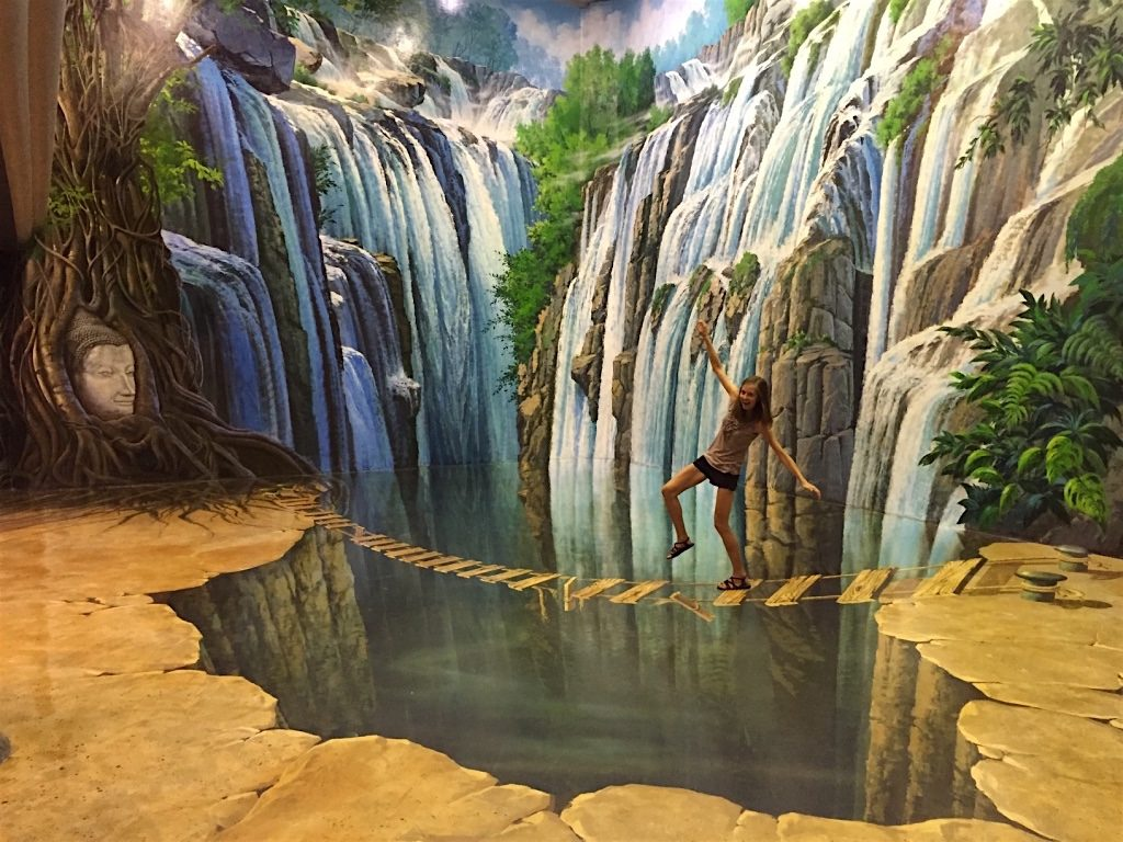3d Magic Eye Moving Wallpapers Visit Art In Paradise In Chiang Mai Thailand 3d