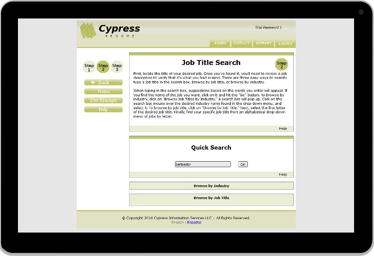 Individuals easy resume builder cypressresume