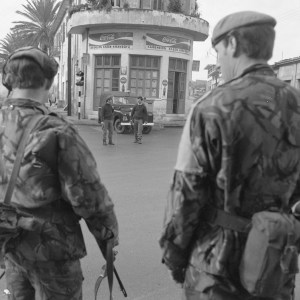 British soldiers were brought in on December 27 1963, ahead of the UN peacekeeping force UNFICYP in March 1964