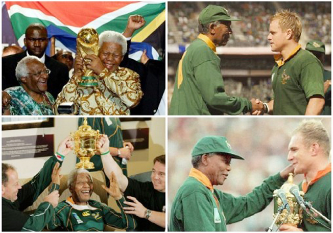 Sports-mad South Africa salutes Mandela 'The Captain'