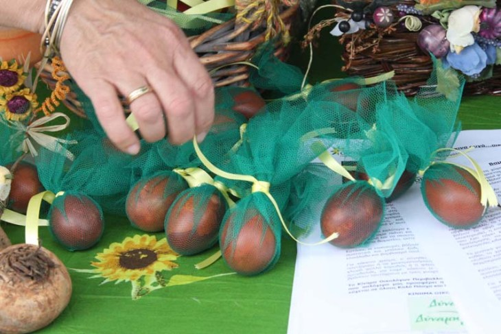Greens organise Easter egg-painting event
