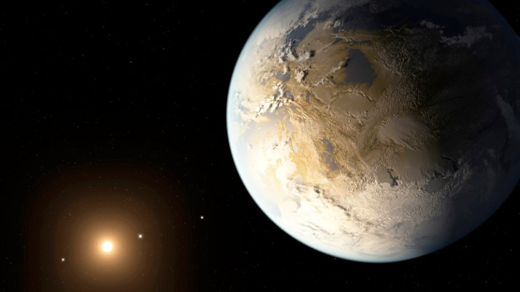 Scientists find Earth-sized world in orbit friendly to life