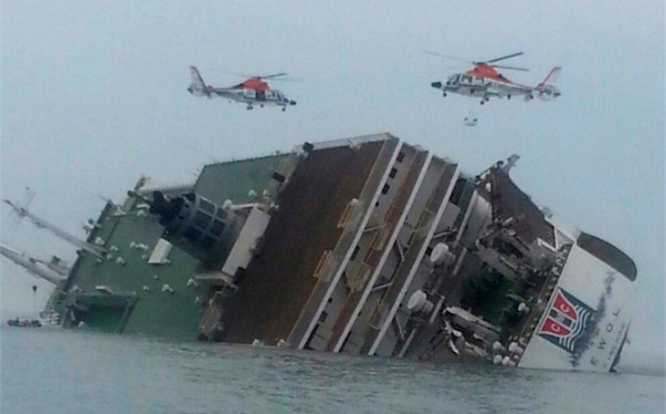More than 300 people missing after South Korea ferry sinks (Updated)