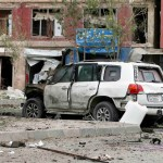 Suicide bomber hits British embassy vehicle in Afghan capital, some injuries (updated)