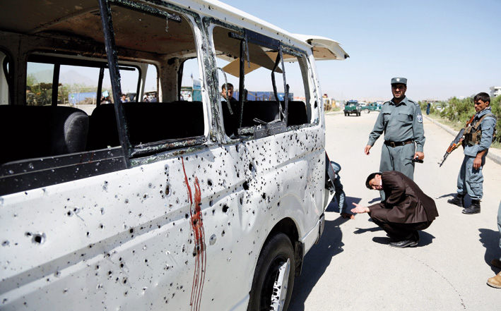 Suicide bomber kills 45 at volleyball match in Afghanistan