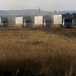 About 70 trucks from Russian aid convoy enter Ukraine