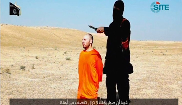 Islamic State issues video of beheading of US hostage