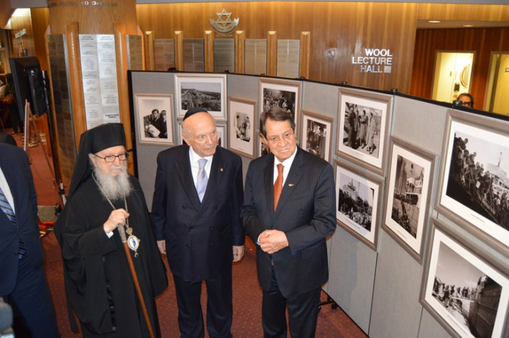 Anastasiades pays tribute to Cyprus-Israel relations