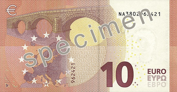 New €10 note comes into circulation