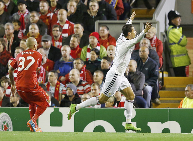 Holders Real too hot to handle as Liverpool outclassed