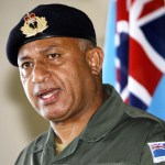 Fijian military commander Commodore Vore