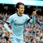Silva gives Man City win over Palace, United held (updated)