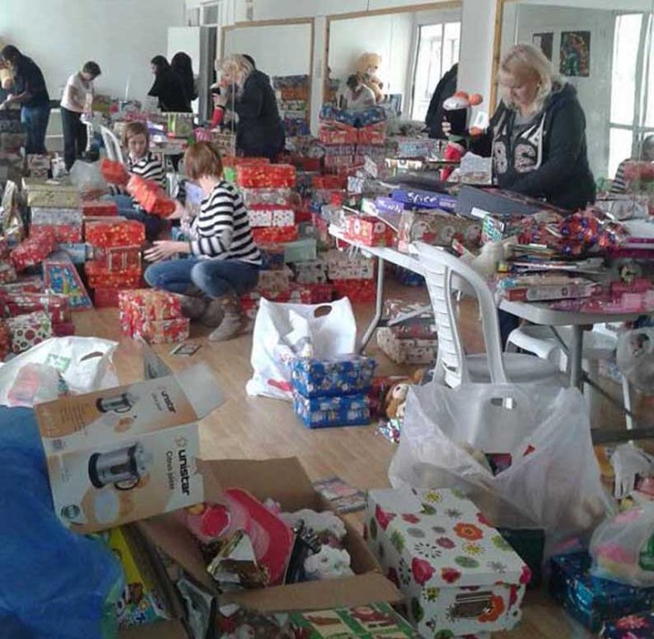 Santa's helpers needed to deliver gifts to needy children