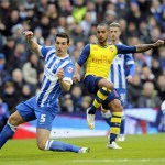 Arsenal cling on to FA Cup victory over Brighton