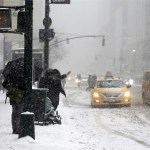 Blizzard shuts down New York City, much of U.S. Northeast