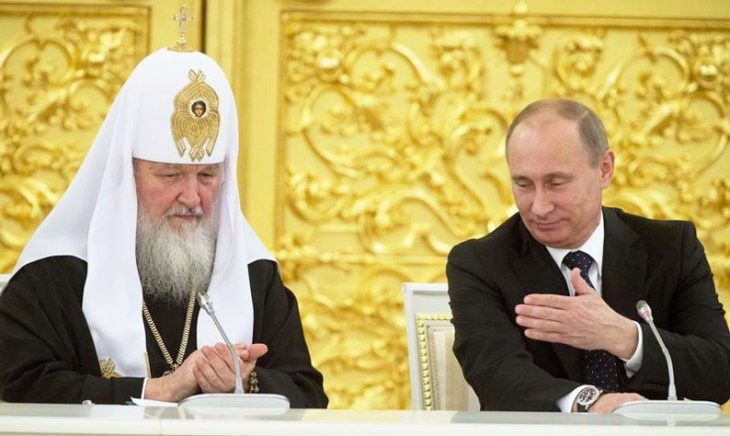 Russian Orthodox Church suspends priest who blessed Ukraine-bound fighters