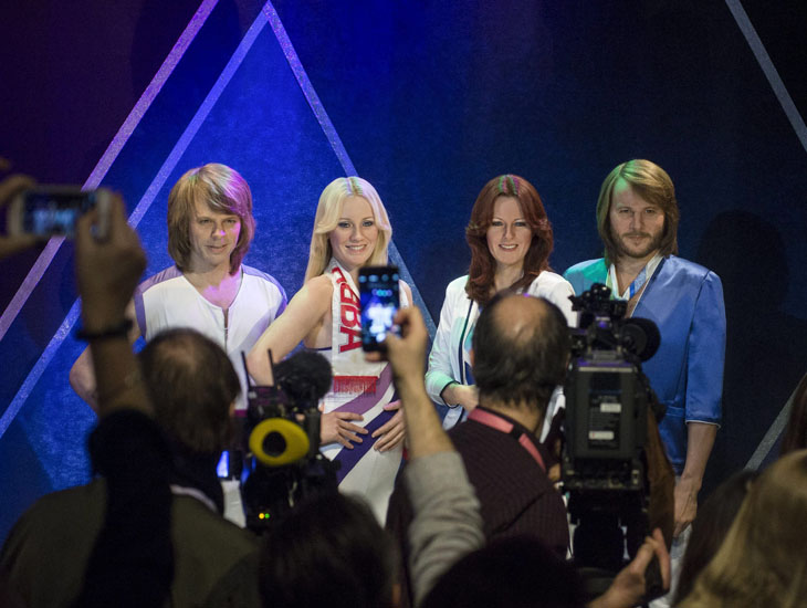 Bjorn again: new ABBA waxworks at Stockholm museum