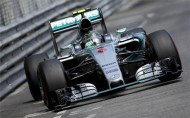 Rosberg takes surprise Monaco hat trick